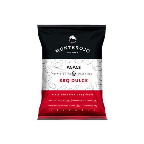 Comprar Papas Monterojo Bbq Dulce X 115g