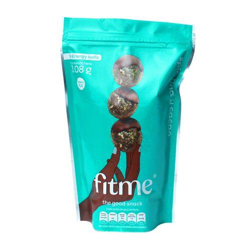 Comprar Snack Fitme Espirulina Y Cacao X 108g - Snack Fitme Espirulina Y Cacao X 108g
