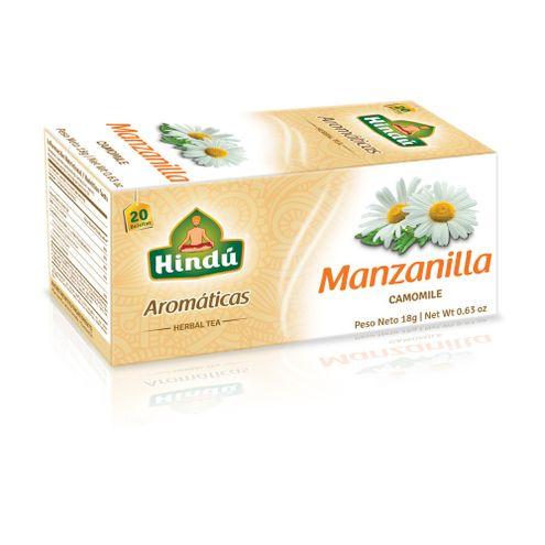 Comprar Aromatica Hindu Manzanilla X 20sobres