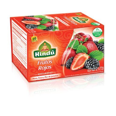 Comprar Aromatica Hindu Frutos Rojos X 20sobres