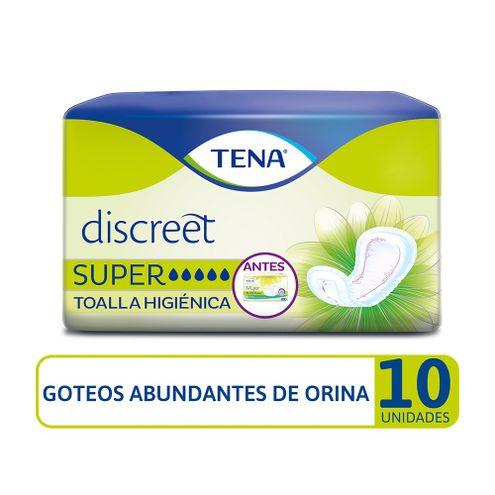 Comprar Toallas Higienicas Tena Discreet Super X 10und