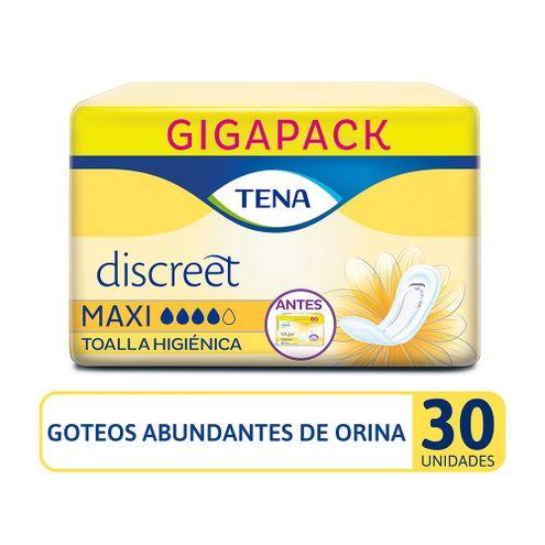 Comprar Toallas Higienicas Tena Discreet Maxi X 30und