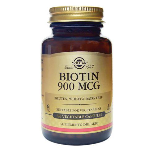 Comprar Biotin Solgar 900 Mcg X 100 Capsulas