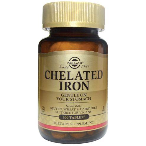 Comprar Chelated Iron X 100 Tabletas