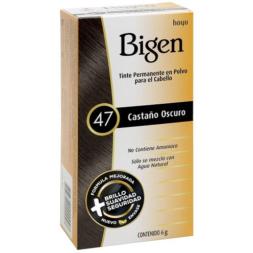 Comprar Tinte Bigen 47 Castaño Oscuro X 6g