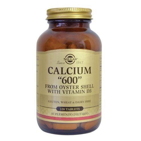 Comprar Calcium 600 Con Vitamina D3 Solgar X 120 Tabletas